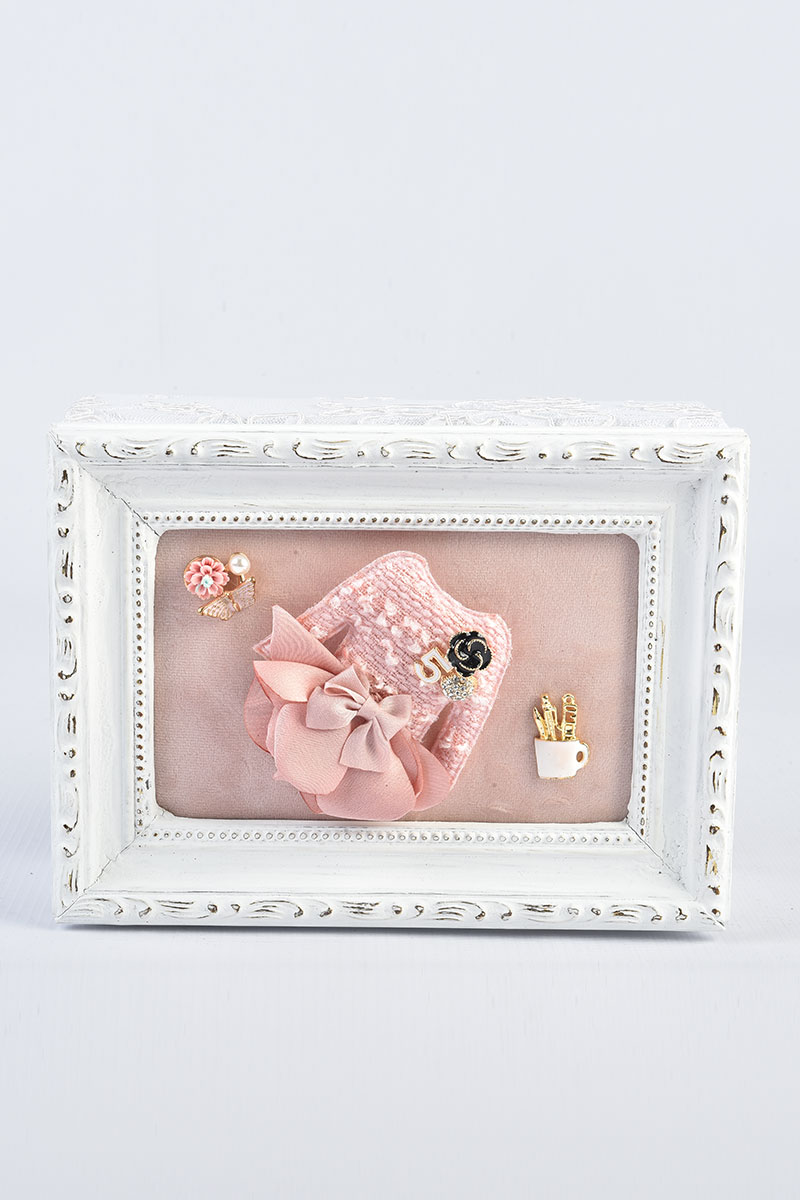 Picture of Pink Dress jewelry box