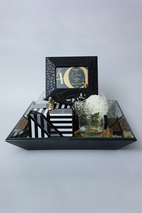 Picture of 40th birthday celebration tray